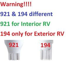 RV Boat LED Light Bulb 290 LUM 921 Wedge base Warm White 12v 24v 5050176