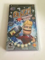 Buzz Master Quiz (playstation Portable, 2008) Psp Brand In Sealed Pkg