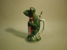 STEIN ANHEUSER-BUSH LOUIE THE LIZARD CHARACTER STEIN # 08071 BRAZIL MINT IN BOX