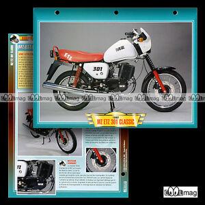 042-04-Fiche-Moto-MZ-ETZ-301-CLASSIC-1991-94-Motorcycle-Card