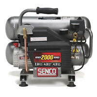 2.5 Hp 4.3 Gal Twinstack Air Compressor newest Senco Pc1131 on sale