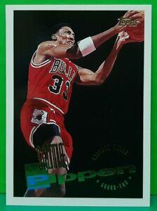 Scottie Pippen regular card 1995-96 Topps #45