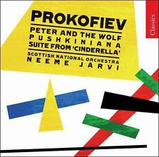 Prokofiev: Peter and the Wolf; Pushkiniana; Cinderella Suite, New Music