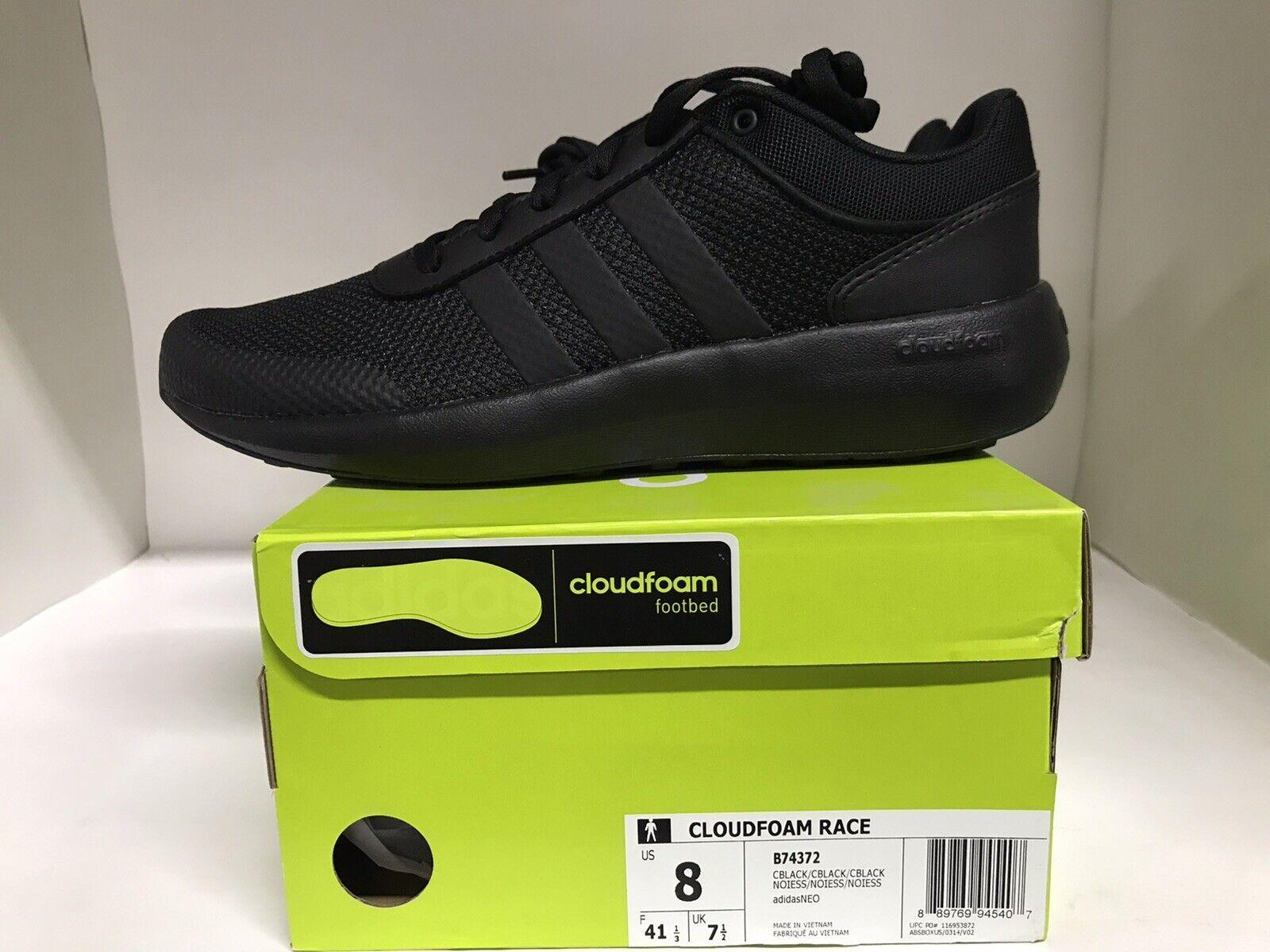 préstamo dinosaurio calor  adidas Neo Cloudfoam Ultimate Mens Sneaker Athletic Shoes Bc0018 Black Size  9 for sale online   eBay