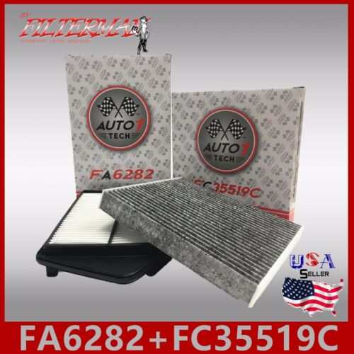 FA6309 FC35519C CARBON PREMIUM ENGINE /& CABIN AIR FILTER for 2008-12 ACCORD 2.4