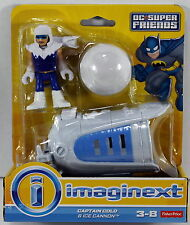 Fisher-Price Imaginext DC Super Friends - Captain Cold & Ice Cannon