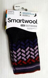 138e287ae Details about New Women`s SmartWool PhD Outdoor Light Pattern Socks Mid Crew  Merino Wool