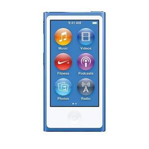 Apple iPod nano 7th Generation Mid 2015 Blue (16GB)