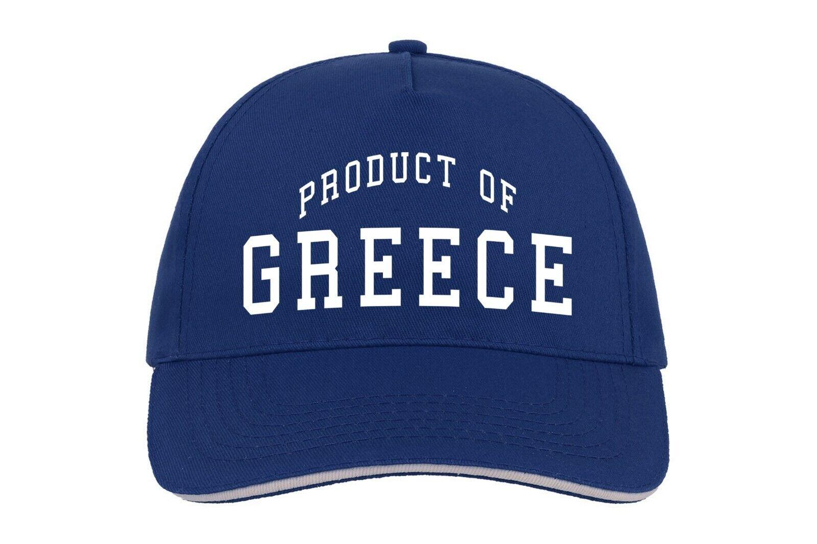 Griechenland Produkt Von Baseballmütze Cap Maßgefertigt Geburtstag Geschenk Land