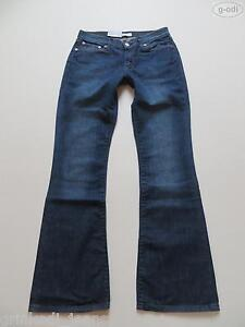 Levi-039-s-529-Booty-Jeans-Hose-W-31-L-34-NEU-Dark-washed-Stretch-Denim-RAR