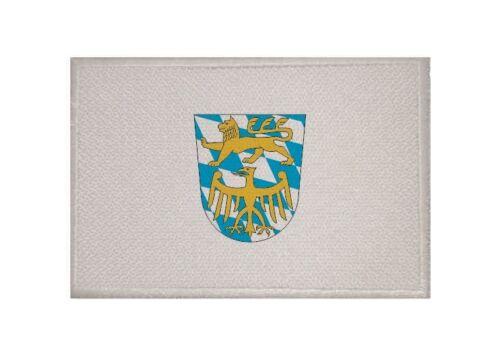 Ricamate Landkreis Starnberg bandiera bandiera aufbügler Patch 9 x 6 cm