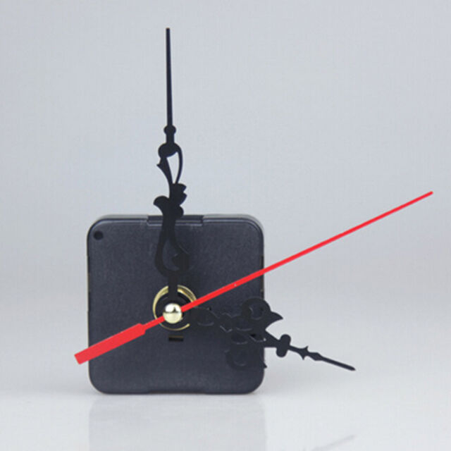 Hot 1 Set Quartz Clock Movement Mechanism Diy Kit Battery Powered Hand Tool w/