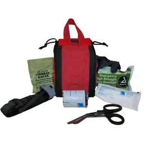 Elite First Aid Patrol Trauma Kit - Professional IFAK Fully Stocked