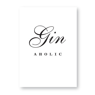 Gin Room Gin Gift Gin Sign The Ginary Sign Gin and Tonic Sign