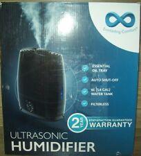 Everlasting 43224 21 6L Comfort Ultrasonic Humidifier Black
