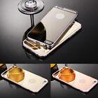 Spiegel Case Silikon Handy Tasche für Handy Schutz Hülle Etui Bumper Back Cover