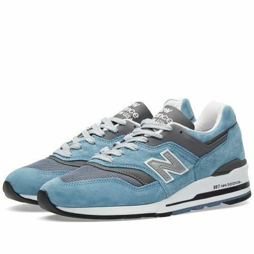 New Balance 997 hommes M997CSP Age of Exploration bleu gris Suede Made in USA LTD