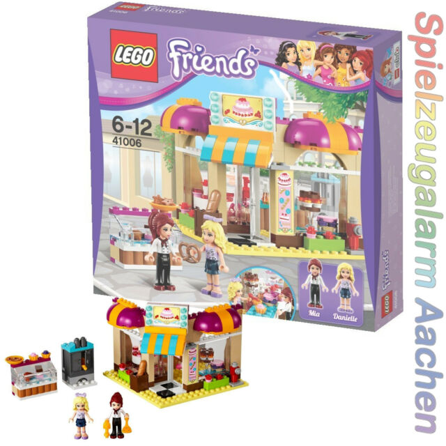 Lego Friends Downtown Bakery 41006 99p Start With Instructions Ebay