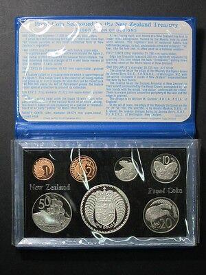 Frank 1979 New Zealand Proof Takahe Bird Dollar 7 Coin Set Original Box Coa 16000 Made