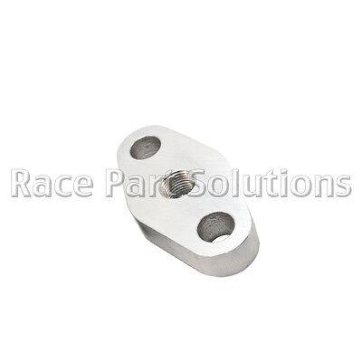 Race Part Solutions Fuel Rail Billet Aluminum Natural Universal 12 inch long