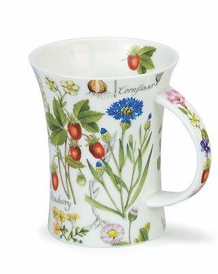 Dunoon Tassen Floral Diary Strawberry Erdbeeren Richmond Kaffeebecher 0,33 l