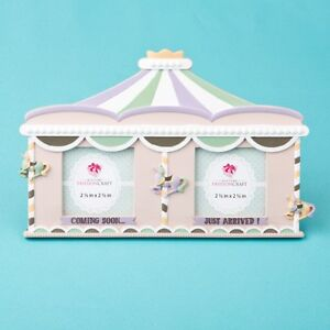 Fabulous Circus tent double frame - Sonogram - Birth - Gift Favors / FC-12830