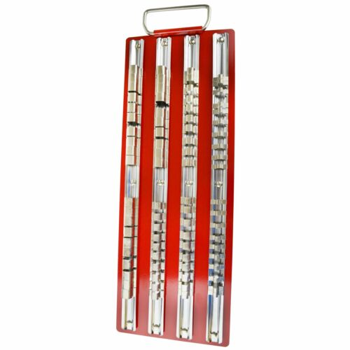 """Socket titular//Bandeja//rack//riel de almacenamiento 1//4/"""" 3//8/"""" y 1//2/"""" unidades 80pc LSR07"""