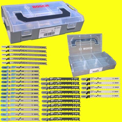 Mini-L-Boxx für Holz und Metall 35 tlg Variante 1 BOSCH Stichsägeblatt-Set
