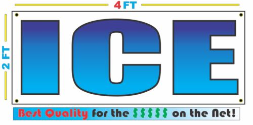 Best Quality for The $$$ 2x4 ICE FC FADE Banner Sign NEW Discount Size