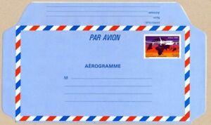 TIMBRE DE FRANCE 1993 AEROGRAMME AIRBUS A340 YV N° 1020 AER NEUF