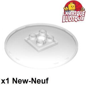 1x Dish disque radar 6x6 solid studs vert pale//sand green 44375b NEUF Lego
