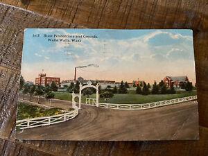 Walla Walla Washington Postcard, State Penitentiary And Grounds, Postmark 1916