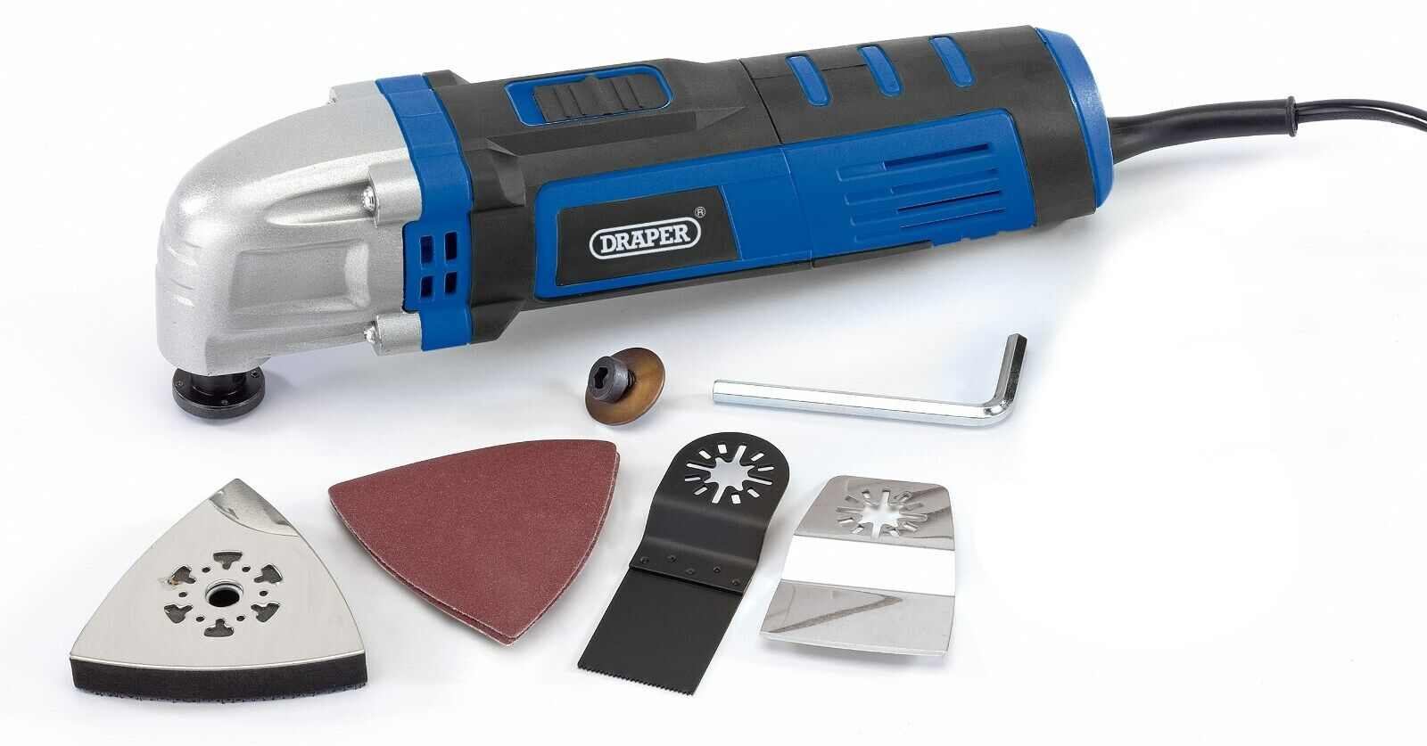 Genuine DRAPER Storm Force Oscillating Multi-Tool Kit 83648 400W