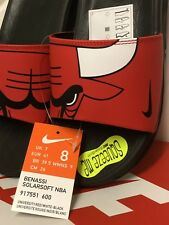 item 7 NIKE BENASSI SOLARSOFT NBA CHICAGO BULLS SLIDES SLIP ON SHOES UK 7  EUR 41 US 8 -NIKE BENASSI SOLARSOFT NBA CHICAGO BULLS SLIDES SLIP ON SHOES  UK 7 ... 4c4fd071b