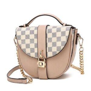 d430dd590e5 Small Medium Women Across Body Bag Ladies Quilted Designer Shoulder ...