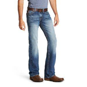 a95e673536 Details about Ariat® Men s M7 Rocker Cooper Slim TekStretch Bootcut Jeans  10020790