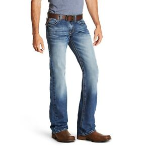 Ariat Men S M7 Rocker Cooper Slim Tekstretch Bootcut Jeans 10020790