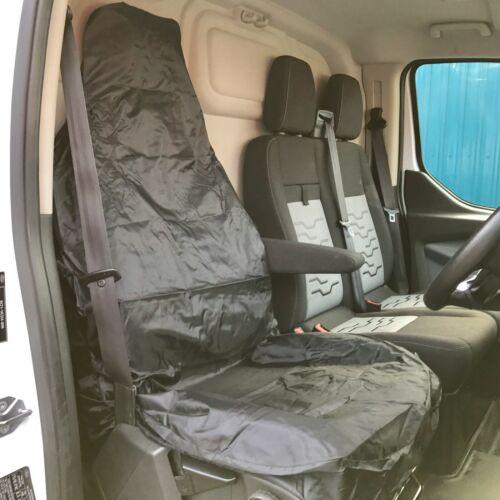 Heavy Duty Black 100/% Waterproof Single Seat Cover Rubber Backed Protection