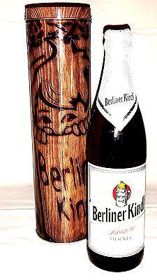 Offen Berliner Kindl Jubiläums Pilsener 0,5l 5,1%vol Mit Exclusiver Sammler Blechdose Geschickte Herstellung Bier