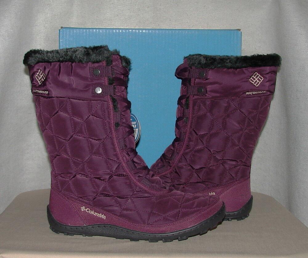 COLUMBIA MINX MID II OMNI-HEAT Winter Boots  Women's 9