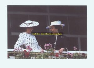 mm146-Princess-Diana-amp-Princess-Anne-share-joke-at-the-races-Royalty-photo-6x4-034