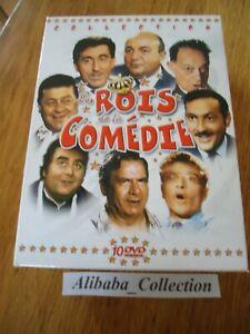 Box-10-DVD-Rois-De-La-Komoedie-Blier-Galabru-Weiss-Lefebvre-Cowl