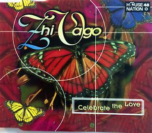 Zhi-Vago-Maxi-CD-Celebrate-The-Love-Germany-VG-VG