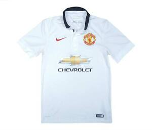 Manchester United 2014-15 Authentic Away Shirt (eccellente) S Soccer Jersey