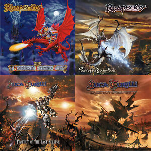 RHAPSODY-LUCA-TURILLI-4CD-Bundle-Special-Christmas-Offer-Symphonic-Metal