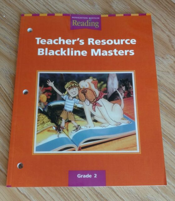 Houghton Mifflin Reading The Nation S Choice California Teacher S Resource Blackline Masters Grade 2 Paperback April 15 2000