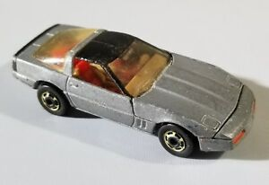 VINTAGE 1982 HOT WHEELS 80'S CORVETTE SILVER | eBay