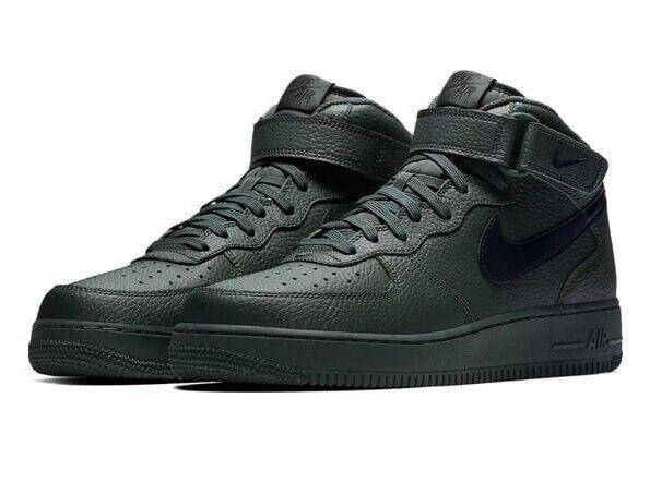 Hombre Nike Air Force 1 Mediados de'07 tamaño 10.5 10.5 tamaño (315123 303) Grove Verde/Negro 620fad