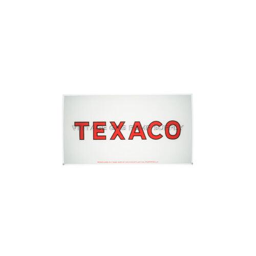 Texaco A-62 Ad Glass AG612