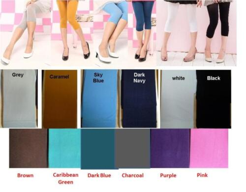 3//4 Lenght Summer Tights In Ten Amazing colours
